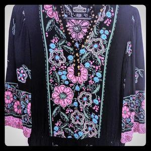 Angie flower print dress